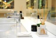 Scent or aroma diffuser in hotel bathroom
