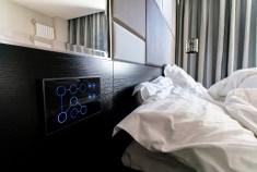bluetooth controller screen of smart bedroom