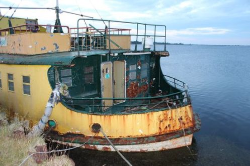 Hotelschiff Caprivi im Juli 2012