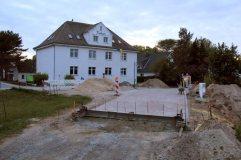 Straßenbau in Vitte am 14.05.2014.