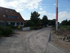 Straßenbau am Wiesenweg 2014