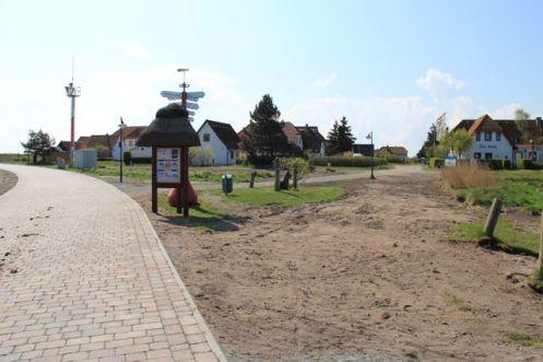 Sanierte Straße in Neuendorf
