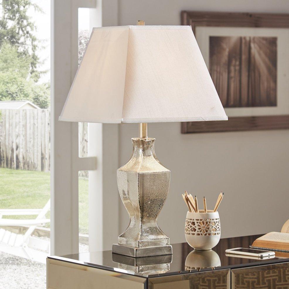 iNSPIRE Q Bold Mercury Glass Table Lamp