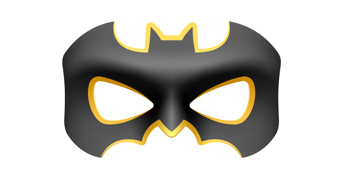 mask of the online marketer