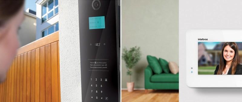 intelbras - sistema de video porteiro - controle de acesso