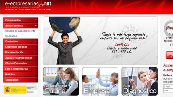 web para mujeres emprendedoras