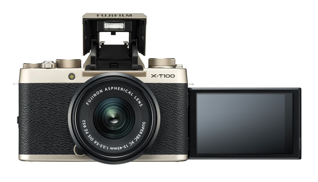 X-T100 Front Gold