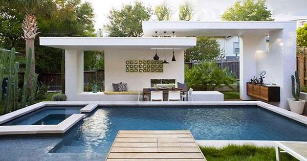 Cool Swimming Pool Cabanas | InTheSwim Pool Blog on Small Pool Cabana Ideas id=84749