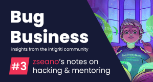Bug Business #3 – Zseano's notes on hacking & mentoring