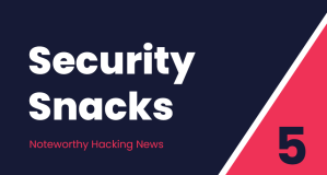 Security Snacks #5 – Avalanche of security updates, Zoom snooping & The 2020 business threat landscape