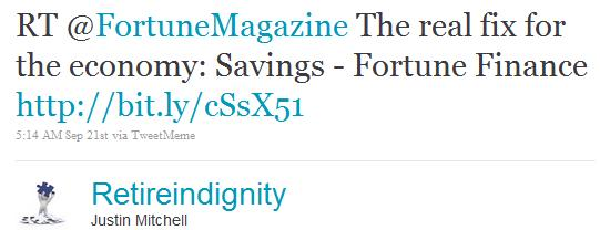twitter marketing using fortune magazine