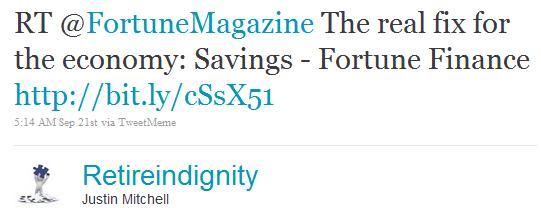 twitter marketing using fortune magazine