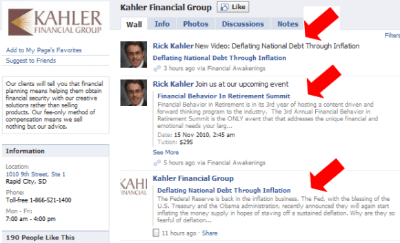 social network marketing from Rick Kahler