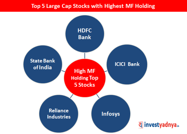 Top 5 Stocks with Highest MF Holdings