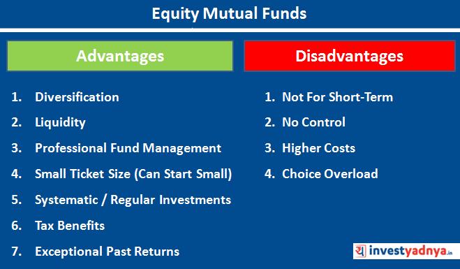 Advantages & Disadvantages of Equity funds