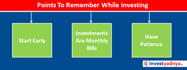 Points To Remember While Investing