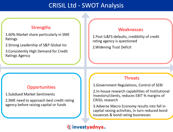 Crisil Ltd SWOT analysis