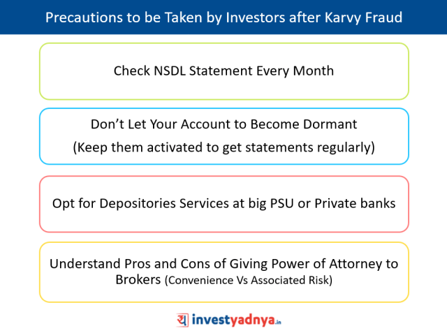 What Precautions Investors Should Take After Karvy Stock Broking Fraud?