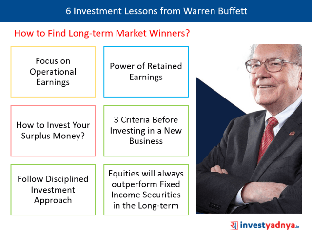 6 Investment Lessons From Warren Buffett - How to Find Long-term Market Winners?