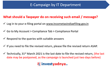 Example- E-campaign by IT Department