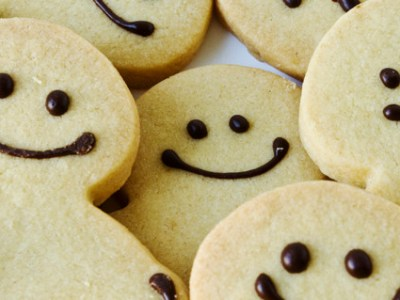 Smiley Faces Cookies Representing Happy Customers