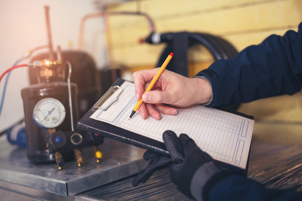 hvac invoicing services