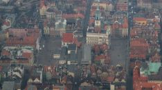 2007 bird's-eye view, an endeavor which back then required getting on an actual plane.