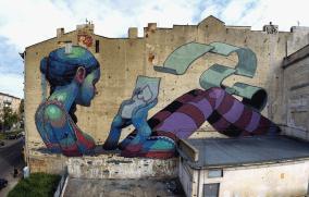 ARYZ-(Spain)-Pomorska-67-st.---Lodz-Murals-[Archiwum-UMŁ]