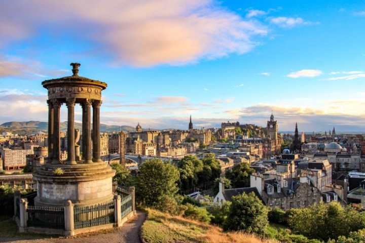 Edinburgh as Halloween destination