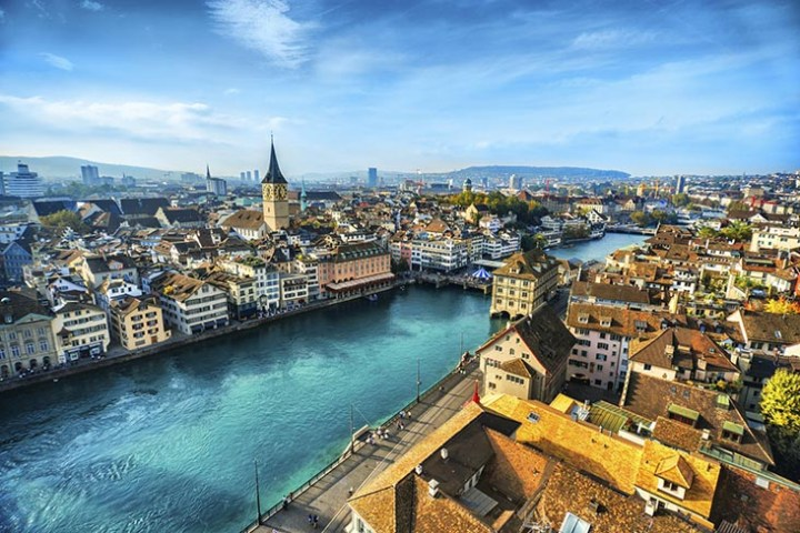 Zurich - one of the most expensive cities in Europe