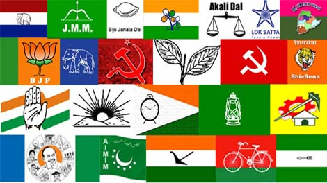 Indian Political Parties Received 2513 Crores