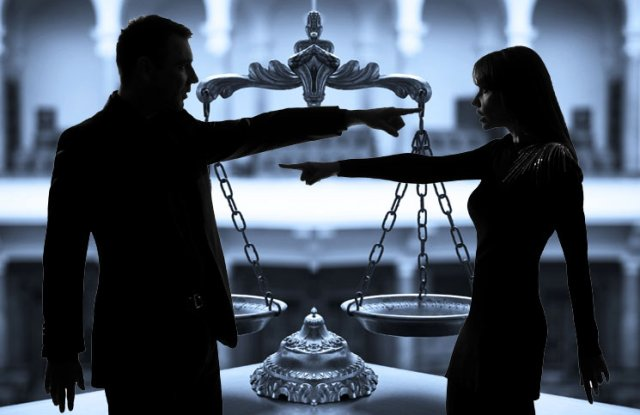 Image result for hasbend wife in court