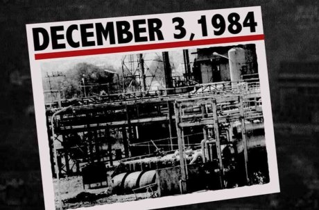 Bhopal Gas Tragedy Newspaper
