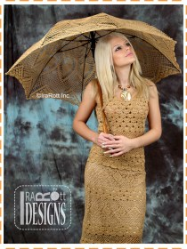 beige wedding umbrella