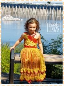 crochet princess dress2