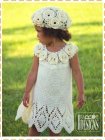 crochet summer dress top and beret2