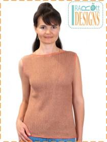 knit crochet top
