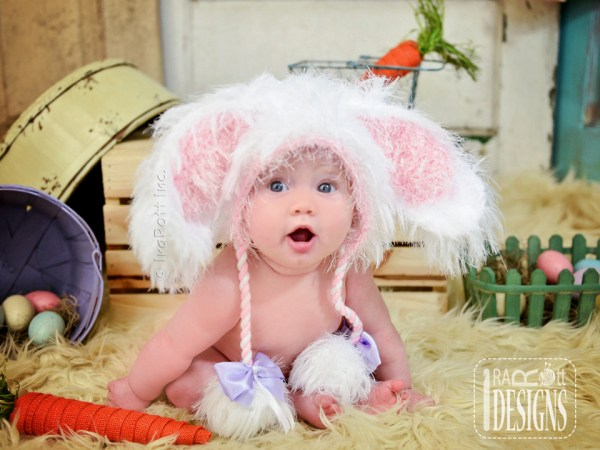 Our NEW Fluffy the Bunny Rabbit Animal Hat Crochet Hat Pattern