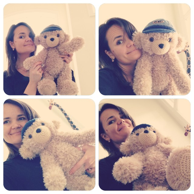 My Teddy and me