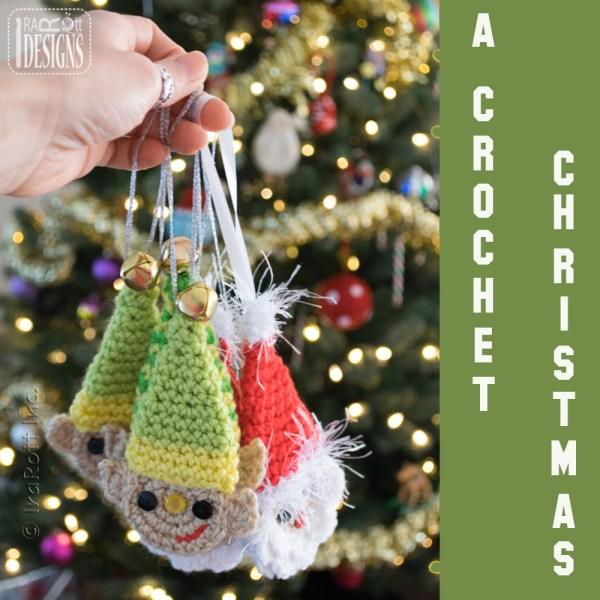 A crochet Christmas with Handmade Ornaments