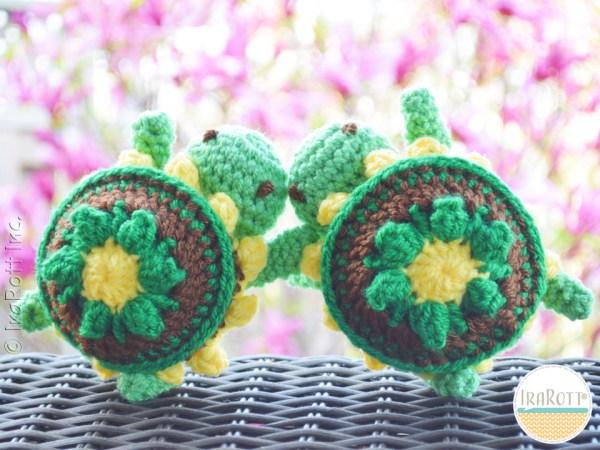 Turtle Amigurumi Crochet Pattern By IraRott
