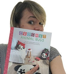 Crochet Animal Rugs Book By Ira Rott