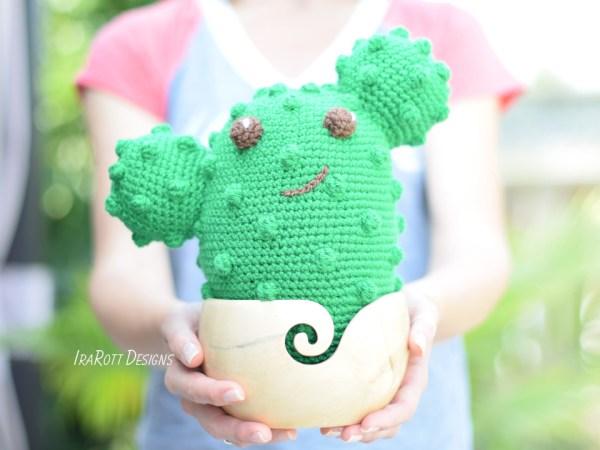 Cactus Amigurumi Pattern By Ira Rott