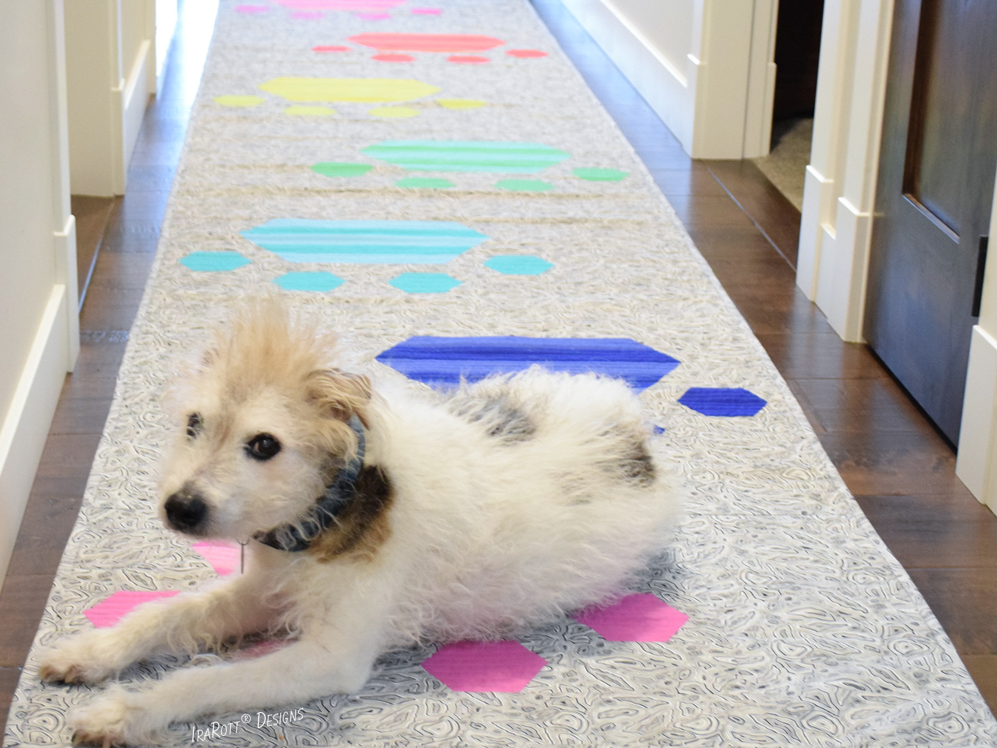 The Pawesome Floor Runner Quilting Pattern by IraRott
