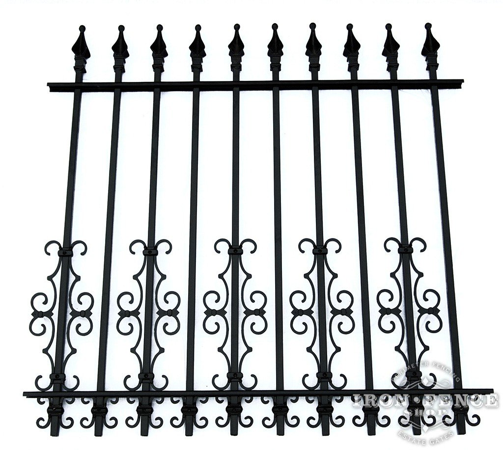 Wrought Iron And Aluminum Fences For Small Dogs