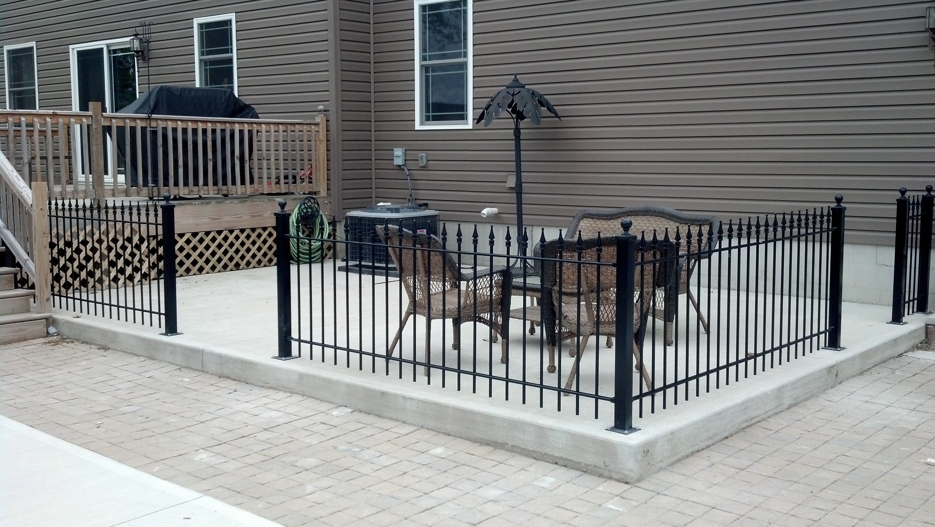an iron fence testimonial from