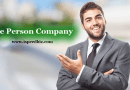 Registration of One Person Company in India