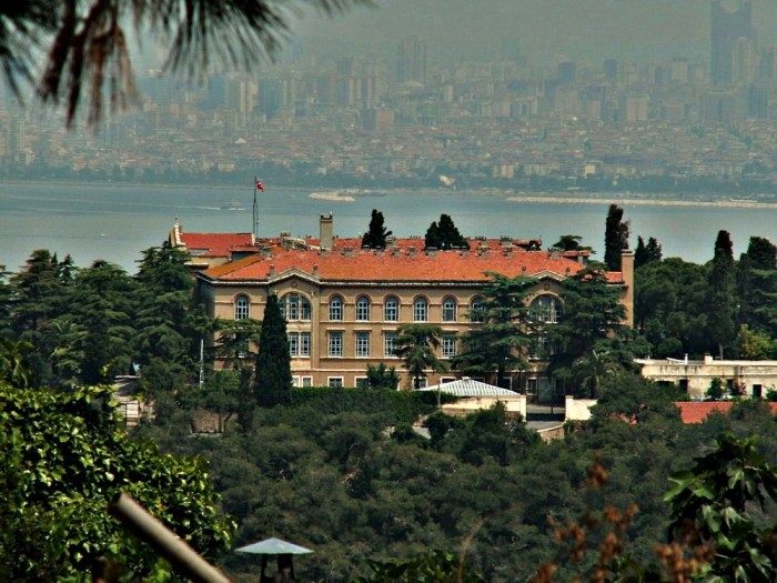 Heybeliada Halki Theological School View, Istanbul