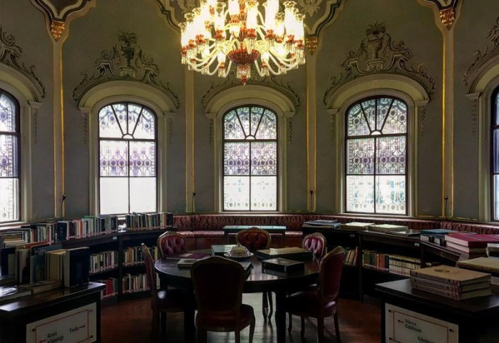 Ahmet Hamdi Tnapınar Library, Museum, Istanbul
