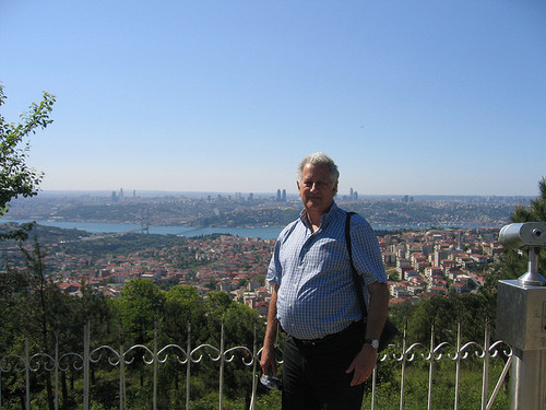 Camlica Hill is the highest point of central Istanbul. Image by Flicker user Serge Garces